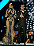 CORAL GABLES, FL - APRIL 28: Gaby Espino and Pedro Fernandez onstage at the Billboard Latin Music Awards at the BanKUnited Center on Thursday April 28, 2016 in Coral Gables, Florida. ( Photo by Johnny Louis / jlnphotography.com )