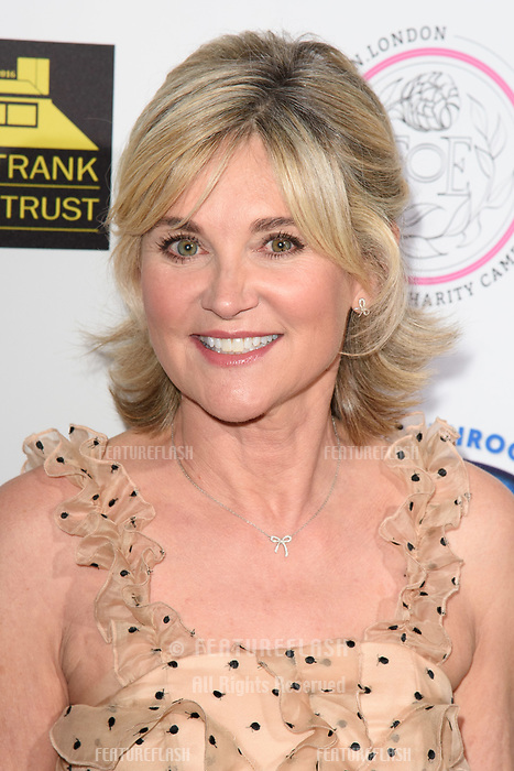 LONDON, UK. September 22, 2018: Anthea Turner at the Paul Strank Charitable Trust Annual Gala at the Bank of England Club, London.<br /> Picture: Steve Vas/Featureflash