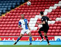 Blackburn Rovers' Joe Nuttall in action during todays match<br /> <br /> Photographer Rachel Holborn/CameraSport<br /> <br /> U23 Premier League 2 - Blackburn Rovers U23 v Aston Villa U23 - Monday 16th April 2018 - Ewood Park - Blackburn<br />  <br /> World Copyright &copy; 2018 CameraSport. All rights reserved. 43 Linden Ave. Countesthorpe. Leicester. England. LE8 5PG - Tel: +44 (0) 116 277 4147 - admin@camerasport.com - www.camerasport.com