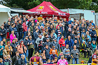 General view of supporters during the Greene King IPA Championship match between Ampthill RUFC and Nottingham Rugby on Ampthill Rugby's Championship Debut at Dillingham Park, Woburn St, Ampthill, Bedford MK45 2HX, United Kingdom on 12 October 2019. Photo by David Horn.
