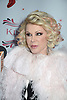 "Joan Rivers arrives at the ""Kinky Boots"" Broadway Opening on April 4, 2013 at The Al Hirschfeld Theatre in New York City. Harvey Fierstein wrote is the Book Writer and Cnydi Lauper is the Composer."