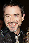 """Actor Robert Downey Jr. arrives to the """"Iron Man"""" premiere at Grauman's Chinese Theatre on April 30, 2008 in Hollywood, California."""