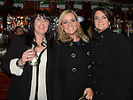 Fiona Madden, Kelly Farrelly nd Nikki Kavanagh pictured at the Drogheda Cares at Christmas gig in The Venue at McHugh's. Photo:Colin Bell/pressphotos.ie