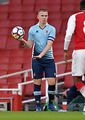 16/04/2018 Arsenal v Blackpool FAYC Semi 2L<br /> <br /> Ben Jacobson