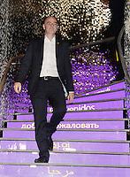 28-02-2016 Zurigo  Football FIFA; New FIFA President Gianni Infantino walks down the staits after inaugurating the new FIFA museum<br /> (Steffen Schmidt/freshfocus/Insidefoto)