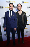 Michael McCorry Rose and Matt Gould attends the Dramatists Guild Foundation toast to Stephen Schwartz with a 70th Birthday Celebration Concert at The Hudson Theatre on April 23, 2018 in New York City.