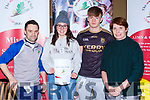 Simon Bowes, Chloe McCarthy, Ger Cronin and Ann Nagle from Killarney No Name club at the Kerry Club day in Killarney Racecourse on Sunday