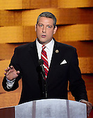 United States Representative Tim Ryan (Democrat of Ohio) makes remarks during the fourth session of the 2016 Democratic National Convention at the Wells Fargo Center in Philadelphia, Pennsylvania on Thursday, July 28, 2016.<br /> Credit: Ron Sachs / CNP<br /> (RESTRICTION: NO New York or New Jersey Newspapers or newspapers within a 75 mile radius of New York City)