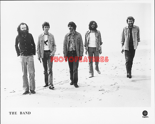 The BAND..promo photo from Photofeatures International archive..
