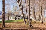 Springtime at Hildene, the home of Robert Todd Lincoln, in Manchester, VT, USAVT, USA