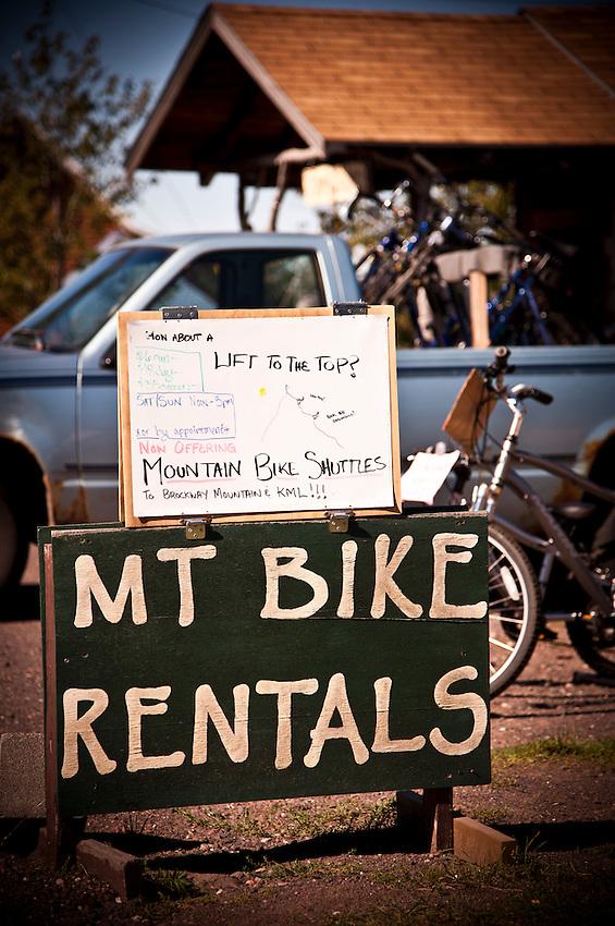 Mountain biking culture of Copper Harbor Michigan Michigan's Upper Peninsula.