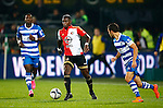 Nederland, Rotterdam, 24 september 2015<br /> KNVB Beker<br /> Seizoen 2015-2016<br /> Feyenoord-PEC Zwolle (3-0)<br /> Eljero Elia van Feyenoord in actie met bal