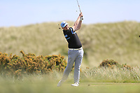 Cian Geraghty (Laytown &amp; Bettystown) during the 1st round of the East of Ireland championship, Co Louth Golf Club, Baltray, Co Louth, Ireland. 02/06/2017<br /> Picture: Golffile | Fran Caffrey<br /> <br /> <br /> All photo usage must carry mandatory copyright credit (&copy; Golffile | Fran Caffrey)