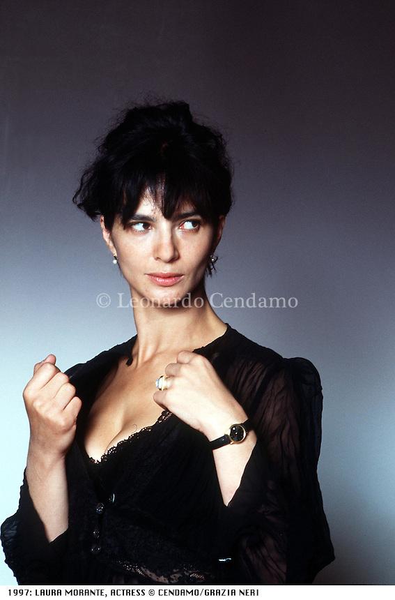 1997: LAURA MORANTE, ACTRESS © Leonardo Cendamo