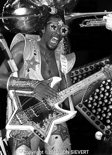 Bootsy Collins, June 2,1978, Oakland Coliseum Arena, Oakland,CA