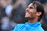 Rafael Nadal of Spain celebrating after victory during trophy ceremony.<br /> Roma 19-05-2019 Foro Italico  <br /> Internazionali BNL D'Italia Italian Open <br /> Foto Antonietta Baldassarre / Insidefoto
