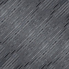 Corduroy, a hand-cut stone mosaic, shown in Venetian honed Nero Marquina and Polished Nero Marquina , is part of the Tissé® collection for New Ravenna.