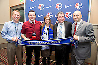 Kassey Kallman, Vlatko Andronovski, Huw Williams. The NWSL draft was held at the Pennsylvania Convention Center in Philadelphia, PA, on January 17, 2014.