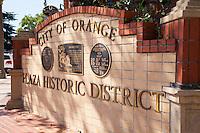 City of Orange Plaza Historic District