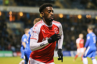 Jordy Hiwula of Fleetwood Town during the Sky Bet League 1 match between Gillingham and Fleetwood Town at the MEMS Priestfield Stadium, Gillingham, England on 27 January 2018. Photo by David Horn.