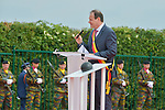Ceremony of the bicentenary of the Battle of Waterloo. Waterloo, 18 june 2015, Belgium<br /> Pics: Mayor of Braine-l'Alleud Vincent Scourneau