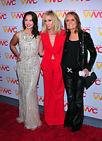 NEW YORK, NY - OCTOBER 26: Ashley Judd, Judith Light and Gloria Steinem at the Women's Media Center 2017 Women's Media Awards at Capitale on October 26, 2017 in New York City. Credit: John Palmer/MediaPunch /NortePhoto.com