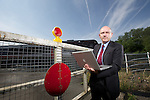 Connect Assist Managing Director Patrick Nash.<br /> Bishton Level Crossing.<br /> 15.07.13<br /> &copy;Steve Pope-Fotowales
