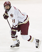 Joe Adams - The Boston College Eagles defeated Northeastern University Huskies 5-3 on Saturday, November 19, 2005, at Kelley Rink in Conte Forum at Chestnut Hill, MA.
