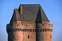 Europe/France/Bretagne/35/Ille-et-Vilaine/Saint-Malo/Saint-Servan: La tour Solidor détail