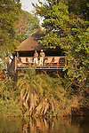 Lunga River Lodge. Zambie