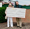 Rosemary Fosbre winning the handicapping tournament at Delaware Park on 8/10/13