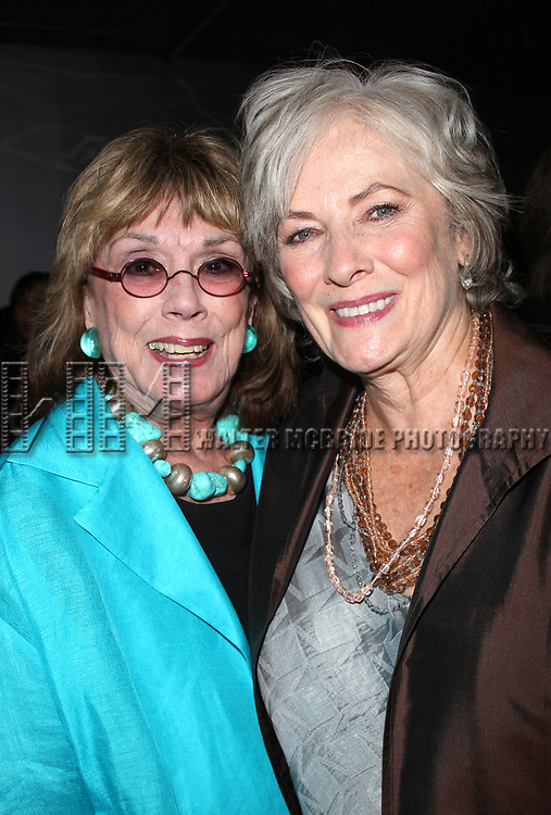Phyllis Newman & Betty Buckley attending the NOTHING LIKE A DAME Benfit Evening at the World Stages in New York City.<br />June 15, 2009