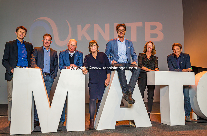 Nieuwegein, Netherlands, November 23,  2019, MBC Congrescentrum, KNLTB Year Congres <br /> Photo: Tennisimages/Henk Koster