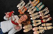 Shoe designer Emily Lamb - Picture by Donald MacLeod - 09.2.11 - 07702 319 738 - www.donald-macleod.com