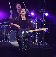 CARSON, CALIFORNIA - JUNE 01: Luke Hemmings of 5 Seconds of Summer performs onstage at 2019 iHeartRadio Wango Tango at Dignity Health Sports Park on June 01, 2019 in Carson, California.   <br /> CAP/MPI/IS<br /> ©IS/MPI/Capital Pictures