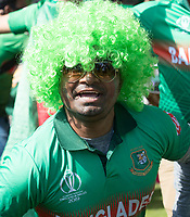 A Fan poses before the fixture between  Pakistan vs Bangladesh, ICC World Cup Cricket at Lord's Cricket Ground on 5th July 2019