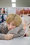 Tokyo, December 4 2012 - Portrait of Japanese manga author Inio Asano, creator of the manga Solanin.