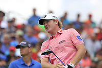 Brandt Snedeker (USA) tees off the 1st tee start his match during Sunday's Final Round of the 117th U.S. Open Championship 2017 held at Erin Hills, Erin, Wisconsin, USA. 18th June 2017.<br /> Picture: Eoin Clarke | Golffile<br /> <br /> <br /> All photos usage must carry mandatory copyright credit (&copy; Golffile | Eoin Clarke)