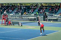 Stanford, CA - May 10, 2019: Stanford Women's Tennis Super Regionals at Taube Family Tennis Stadium  Final Score Stanford Cardinal 4 Kansas Jayhawks 3