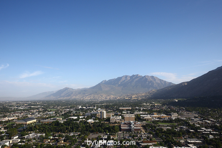 1309-22 1085<br /> <br /> 1309-22 BYU Campus Aerials<br /> <br /> Brigham Young University Campus South looking North, Provo, South Campus,  Mount Timpanogos, Provo Valley<br /> <br /> September 7, 2013<br /> <br /> Photo by Jaren Wilkey/BYU<br /> <br /> © BYU PHOTO 2013<br /> All Rights Reserved<br /> photo@byu.edu  (801)422-7322