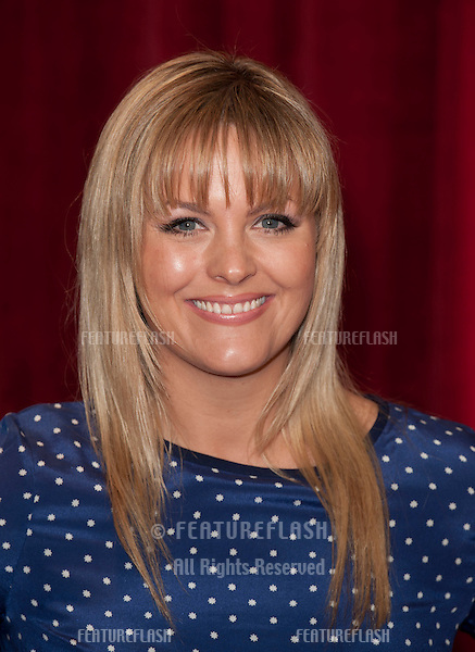 Jo Joyner arriving for the 2012 British Soap Awards , LWT Southbank, London..28/04/2012 Picture by: Simon Burchell / Featureflash