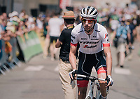 Bauke Mollema  (NED/Trek-Segafredo) before the start<br /> <br /> Stage 2: Mouilleron-Saint-Germain &gt; La Roche-sur-Yon (183km)<br /> <br /> Le Grand D&eacute;part 2018<br /> 105th Tour de France 2018<br /> &copy;kramon