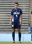07 September 2007: Yale's Caitlin Collins. The Duke University Blue Devils defeated the Yale University Bulldogs 1-0 at Fetzer Field in Chapel Hill, North Carolina in an NCAA Division I Women's Soccer game, and part of the annual Nike Carolina Classic tournament.