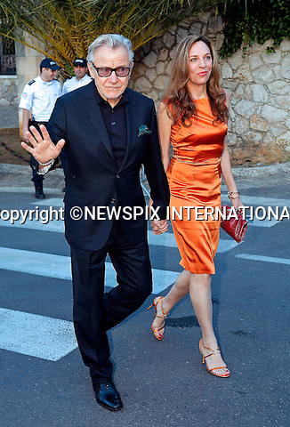 12.05.2015, Antibes; France: HARVEY KEITEL AND DAPHNA KASTNER<br /> attend the Cinema Against AIDS amfAR Gala 2015 held at the Hotel du Cap, Eden Roc in Cap d'Antibes.<br /> MANDATORY PHOTO CREDIT: &copy;NEWSPIX INTERNATIONAL<br /> <br /> (Failure to credit will incur a surcharge of 100% of reproduction fees)<br /> <br /> **ALL FEES PAYABLE TO: &quot;NEWSPIX  INTERNATIONAL&quot;**<br /> <br /> Newspix International, 31 Chinnery Hill, Bishop's Stortford, ENGLAND CM23 3PS<br /> Tel:+441279 324672<br /> Fax: +441279656877<br /> Mobile:  07775681153<br /> e-mail: info@newspixinternational.co.uk