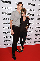 "Harris Dickinson and Rose Gray<br /> arriving for the ""Widows"" special screening in association with Vogue at the Tate Modern, London<br /> <br /> ©Ash Knotek  D3457  31/10/2018"