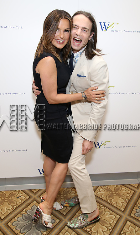 Mariska Hargitay and Jordan Roth attend The 7th Annual Elly Awards at The Plaza Hotel on June 19, 2017 in New York City.