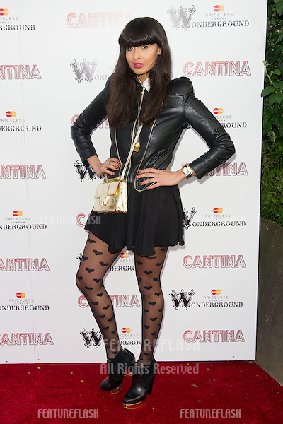 Jameela Jamil arriving for the Press Night of Cantina at Jubilee Gardens in London. 21/05/2012  Picture by: Simon Burchell / Featureflash