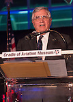 Feb. 27, 2013 - Garden City, New York, U.S. -  HARRISON H. SCHMITT, Apollo 17 Astronaut and former U.S. Senator, delivers a speech after being honored with the Spirit of Discovery Award, at the 10th Annual Cradle of Aviation Museum Air & Space Gala, celebrating the 40th Anniversary of Apollo 17.
