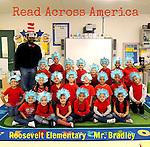 Mr. Bradley's class at Roosevelt ES