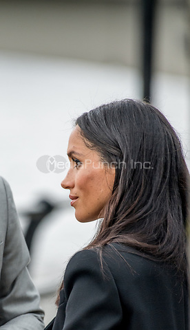 Prinz_Harry und Herzogin Meghan besuchen das Famine Memorial  in Dublin / 110718<br /> <br /> <br /> *** July 11, 2018 - Dublin, Ireland. The Duke and Duchess of Sussex visit the Famine Memorial  in Dublin on day two of their visit to Ireland. *** _<br />